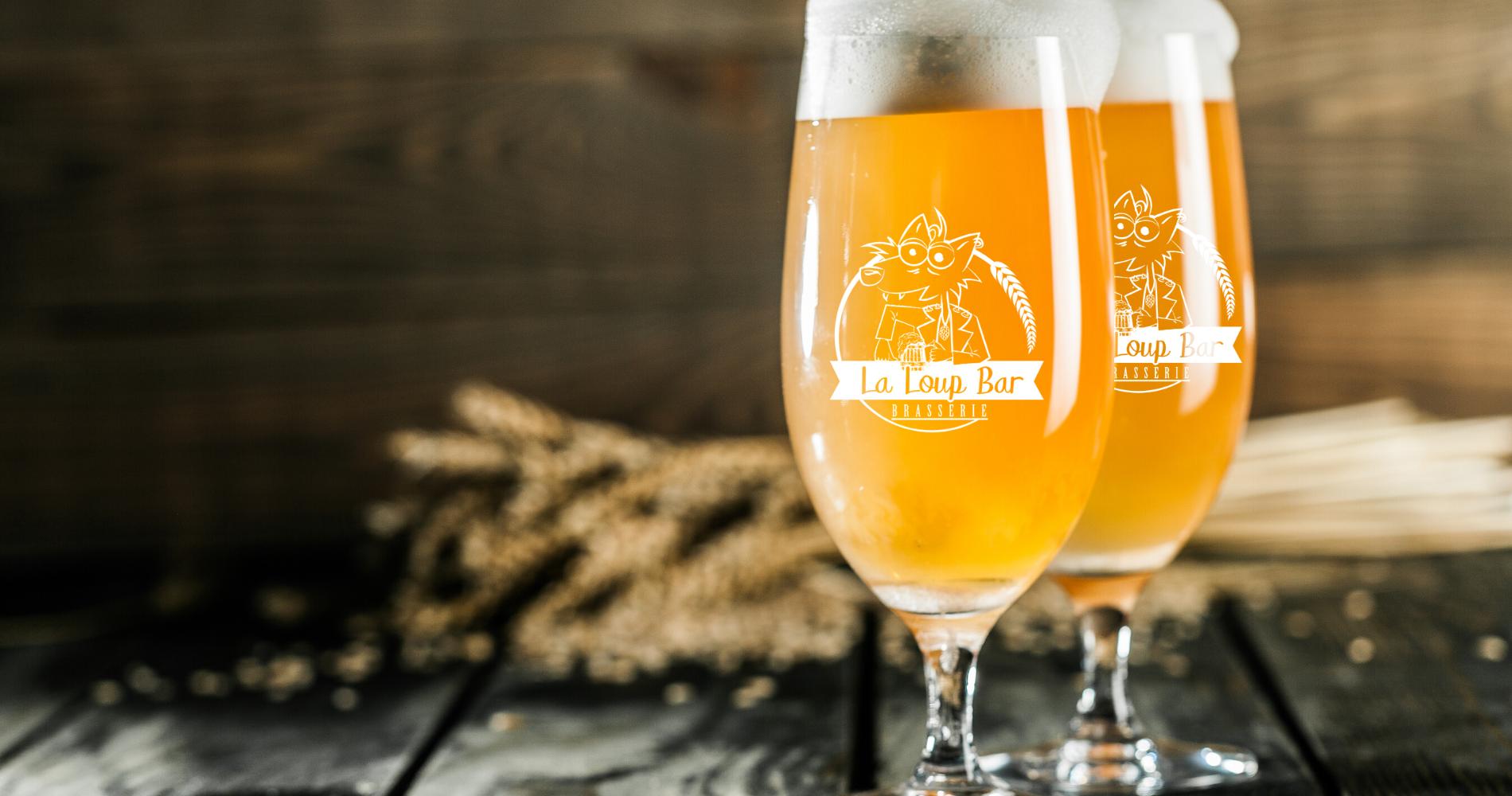 La LoupBar Brasserie artisanale à Moyon_Bière locale Manche